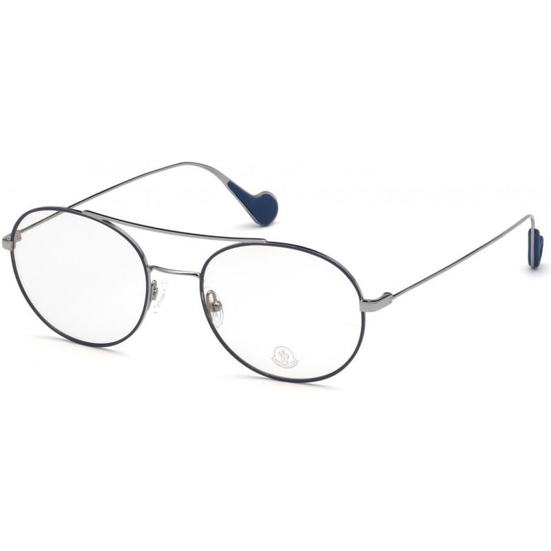 Eyeglasses Moncler ML 5056 001 shiny black