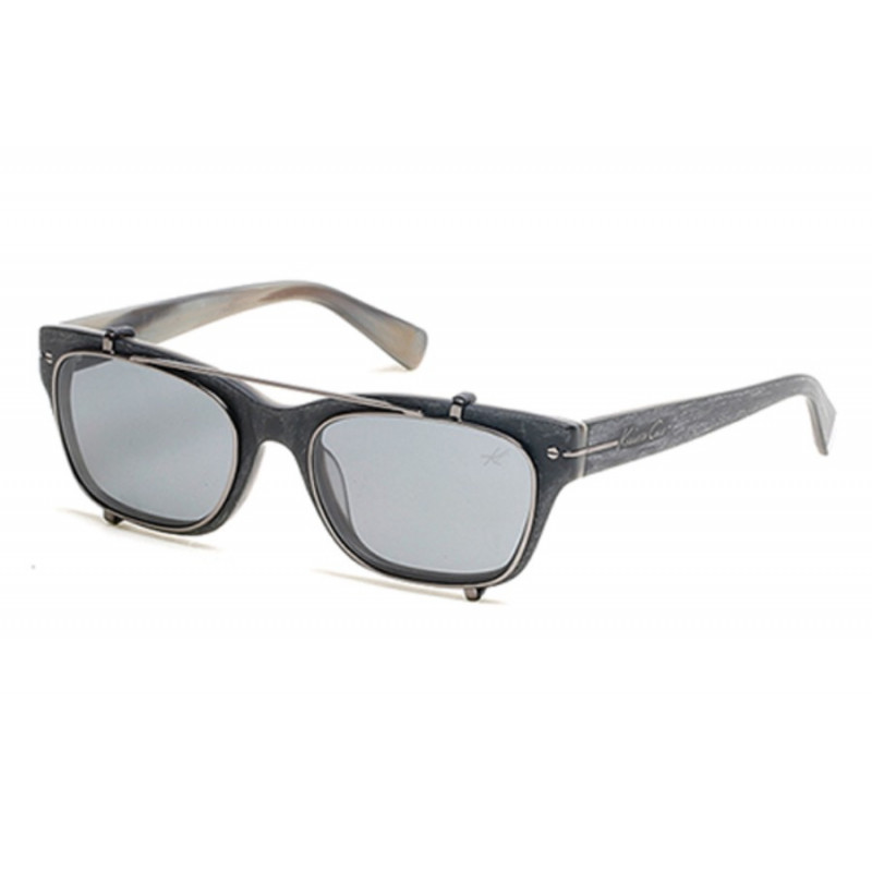 NEW KENNETH COLE NEW YORK KC7204-90F Shiny Blue// Brown Gradient Sunglasses